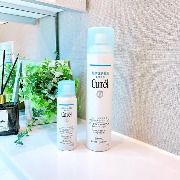 Curel(キュレル)のディープモイスチャースプレーで全身一気に「セラミドケア」!乾燥肌の私が何本リピしたか分からない最愛アイテム♡