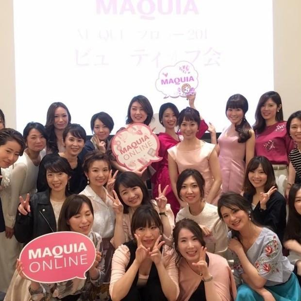 イベントレポ☆2017年MAQUIAブロガーオフ会が開催されました!
