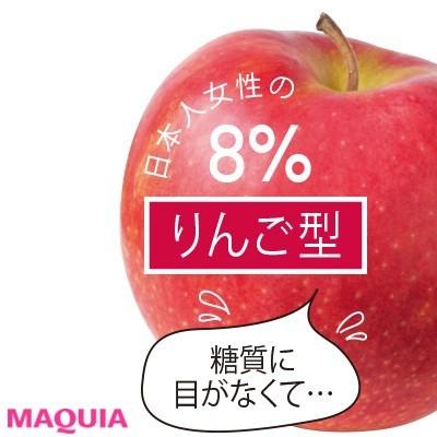 【食べ痩せダイエット】Q.りんご型の主食は?
