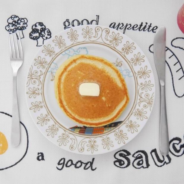 【ダイエットレシピ】毎朝食べるのが楽しみになる!簡単おからパンケーキ♩