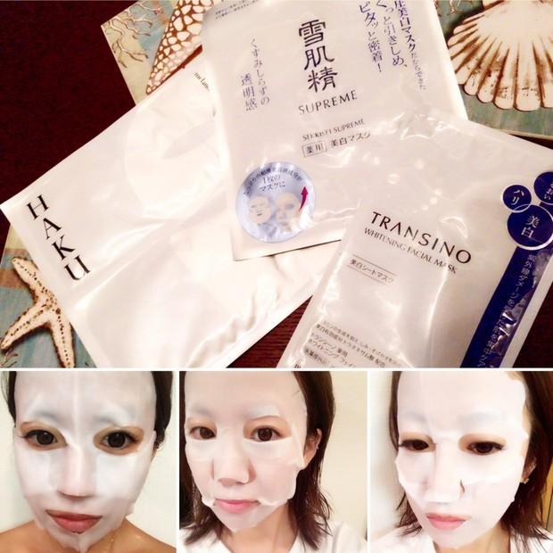 紫外線を浴びたら即シートマスク!ドラッグストアで買える《美白マスク》3種を徹底比較!