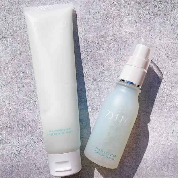 《1/20発売DUO洗顔料&美容液》マスク荒れでデリケートな敏感肌を救済!