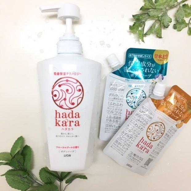 日本初の吸着保湿処方ボディソープ♡毎日のお風呂で、ながら保湿ケア♪