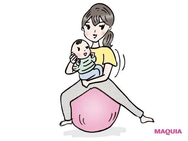 【産後ダイエット】産後の身体の変化に応じた運動法を_リハビリ期(2〜7カ月)
