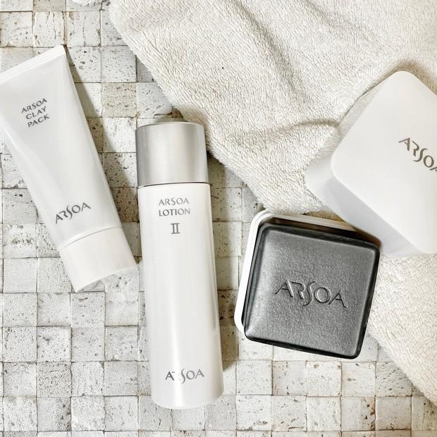 【ARSOA】ロングセラー商品はやっぱり凄い。肌を大切に思い続けて50年。