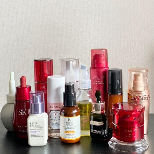 《効果別13種類》お気に入りの美容液コレクションを公開します!!