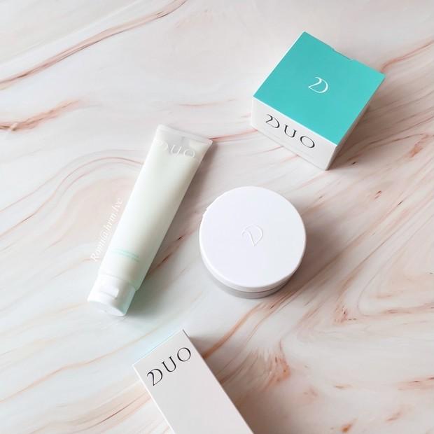 DUO / 優しさに包まれる気持ち良さ【デュオ】敏感肌に癒しの薬用洗顔料&薬用クレンジングバーム バリア