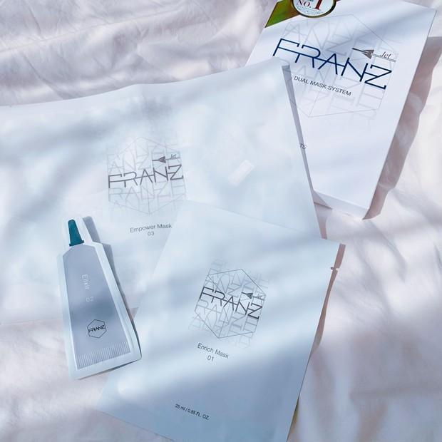 【フランツ】微小電流で美容成分を角質層まで浸透させるフェイスマスク【FRANZ】