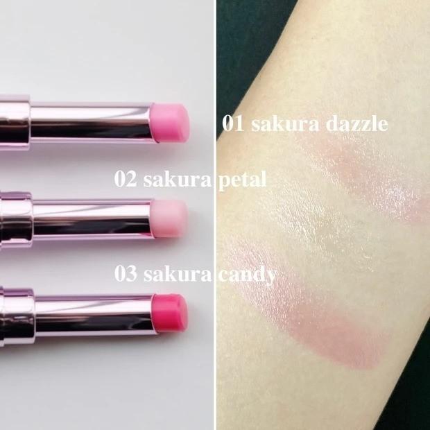 【桜コスメ2021】コスメデコルテから、桜カラーのリップバームが数量限定発売_スウォッチ