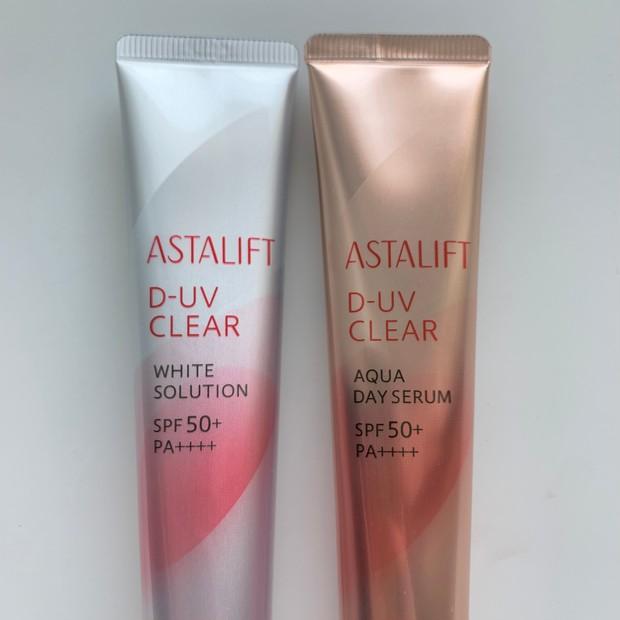 肌質・なりたい肌で選べる!ASTALIFT[アスタリフト]D-UVクリア2種の使用感・仕上がり・違いをスウォッチ多めでレビュー _2