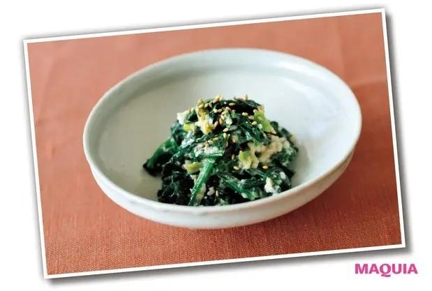 【手作り発酵食】免疫力、ダイエットにも◎ 手作り「甘酒」レシピ_ほうれん草のごま甘酒和え