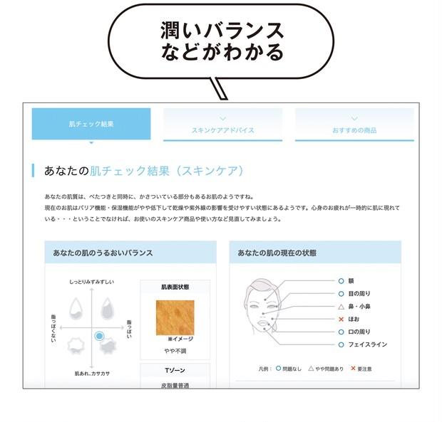URL https://www.shiseido.co.jp/beauty/check/skincare/start.html