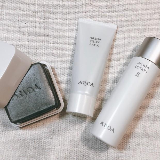 【透明感】化粧水ゴクゴク。肌が喜ぶアルソアのスキンケア