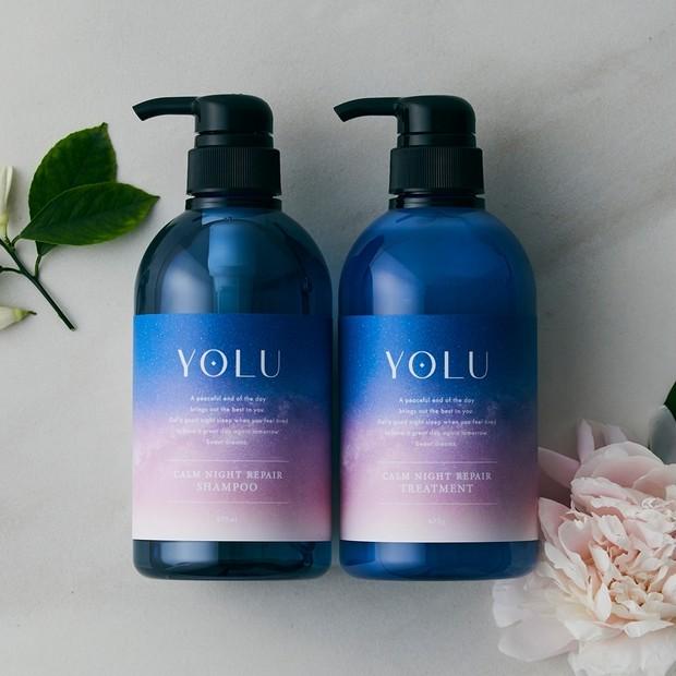 【フォロー&RTで当たる】睡眠中の髪をダメージから守る「YOLU」のシャンプー&トリートメントを3名…