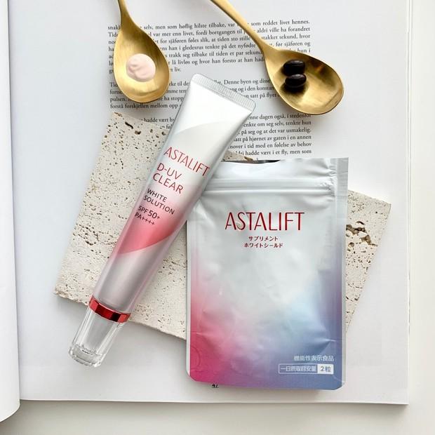 【新習慣】ASTALIFT[アスタリフト]の「飲む」×「塗る」紫外線対策!乾燥知らずのうるおい肌キープを目指す【日焼け止め】