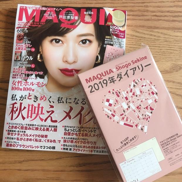 【昨日発売】MAQUIA2018年12月号で楽しみにしていた3つのこと