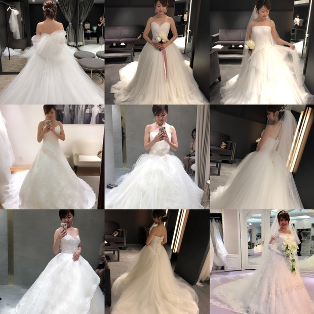 【プレ花嫁】ウェディングドレス決定!!わたしが迷いに迷ったドレスを一挙ご紹介♡♡