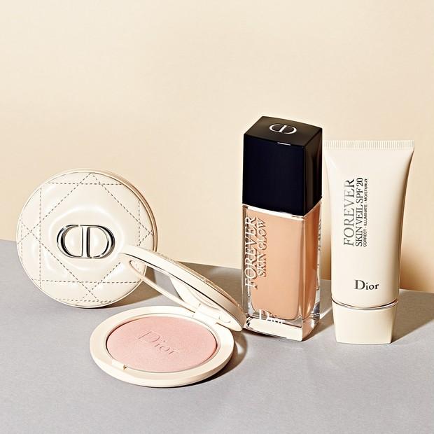 Diorのベースメイクで圧倒的美肌に