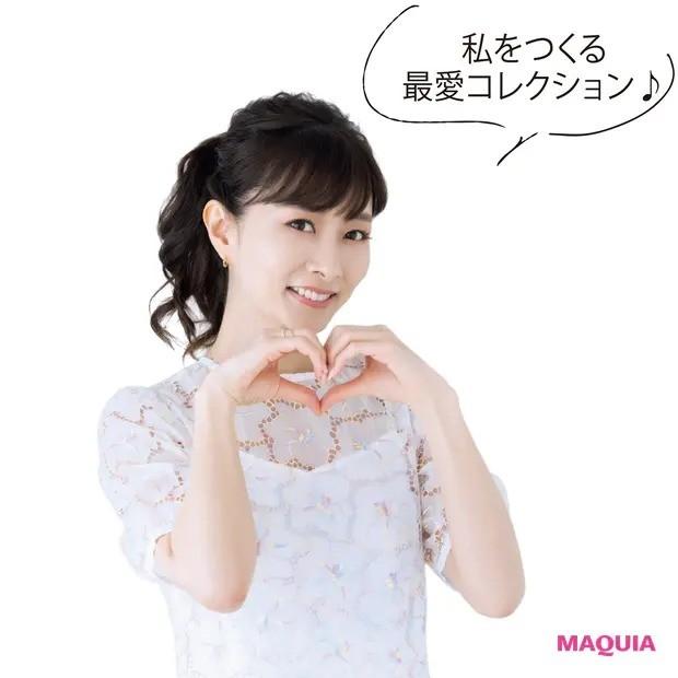 【ポーチの中身】石井美保さんのキレイを支えるバッグ&ポーチの中身を大公開