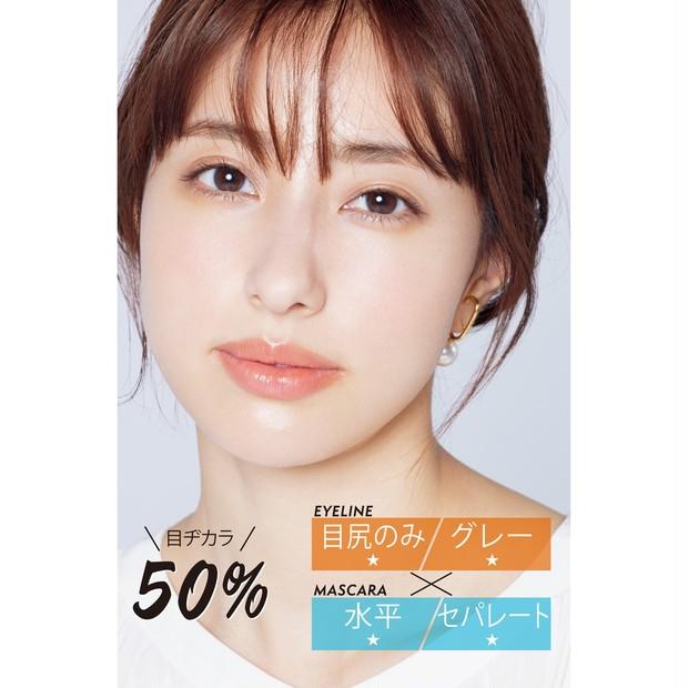 目ヂカラ50%