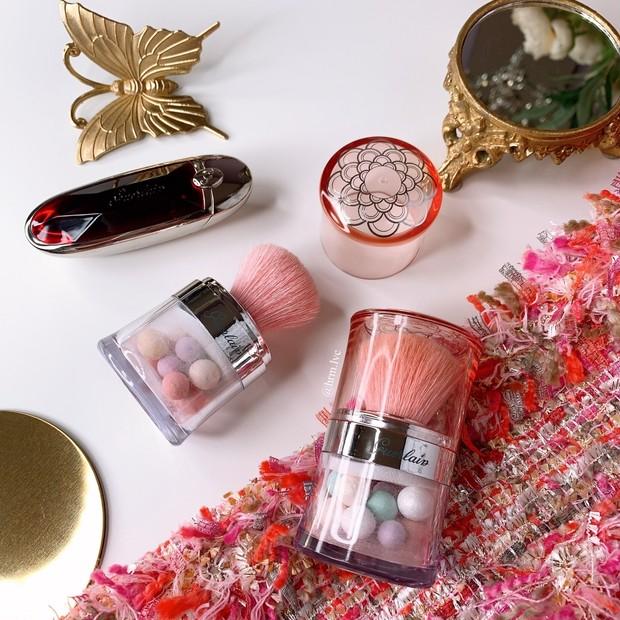 GUERLAIN / 愛され続けるロングセラー【ゲラン メテオリット】6色ビーユで魔法のベールを纏う ときめくフィニッシュパウダー!トラベリング ペルルは真珠の輝き