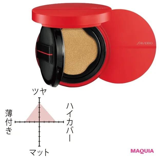【最新コスメランキング】クッションファンデーション部門_3位 SHISEIDO シンクロスキン グロー クッションコンパクト