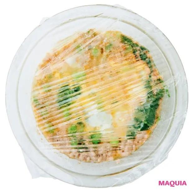 【美容スープレシピ】STEP3 ふんわりとラップをかけてチン