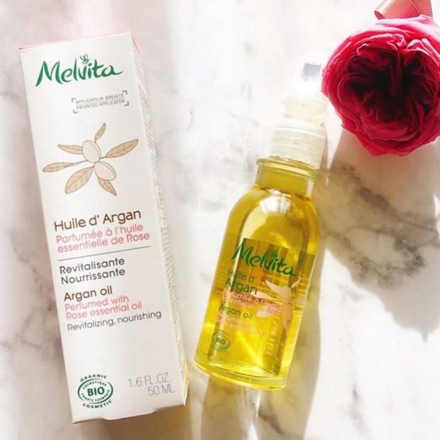 洗顔後すぐのオイルで化粧水ごくごく体験!メルヴィータ ビオオイル アルガンオイル ローズ♡