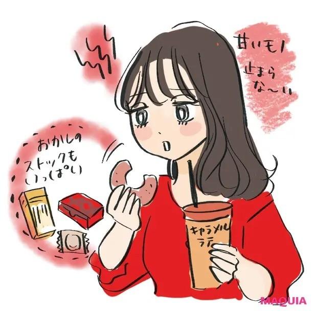 【食べ方を見直すダイエット】<E> ストレスからのどか食いタイプの太りグセ