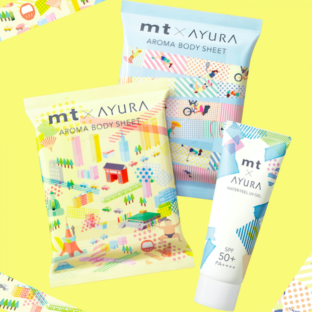 可愛く心地よい! mt×AYURAのコラボデザインアイテムキットを計6名様にプレゼント