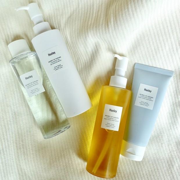 【おうち美容】洗顔に注目!お肌に合わせて選べるHuxleyのクレンジング&洗顔料4種♡