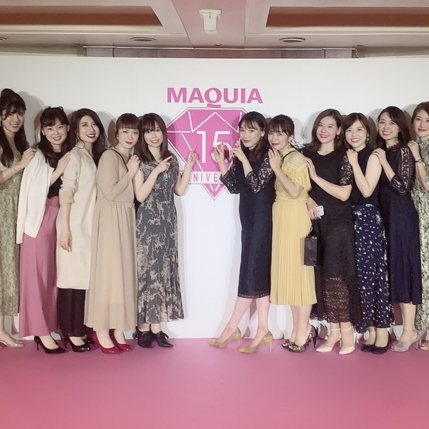 【MAQUIA15周年】ビューティシェアクルーズ2019♡