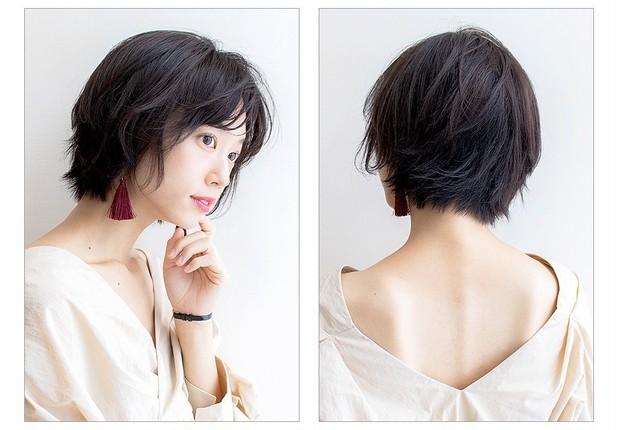 【大人のショートヘア】クセ毛風ニュアンスショート_2