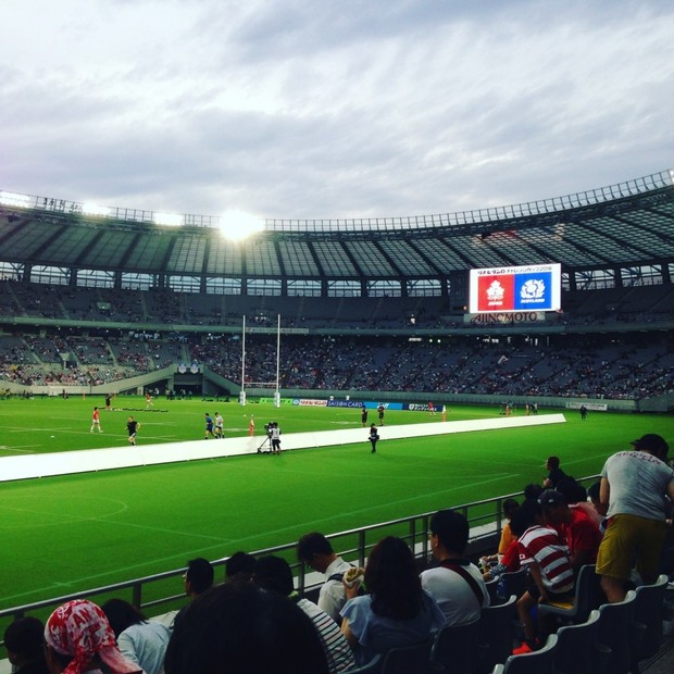 お知らせ&ラグビー日本代表戦【天覧試合】
