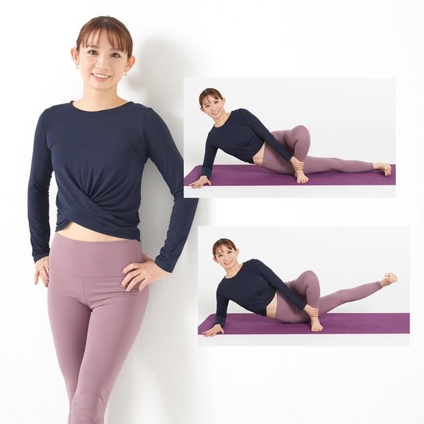 """眠っている""""内もも""""を鍛えて脚痩せ! 簡単2ステップでできる、廣田なおさんのトレーニング"""