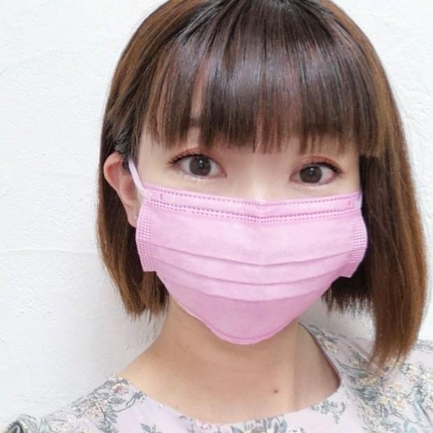 【大人気 血色マスク】新色の血色カラー不織布マスクでチークのように血色感アップ♪_1