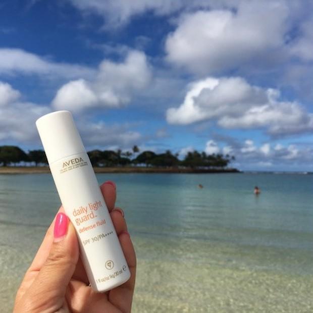 紫外線と環境ストレスから肌を守る!AVEDAのミネラル由来の日焼け止めがすごい!