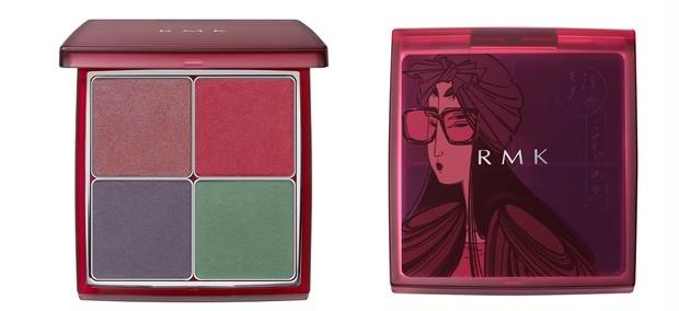 赤が艶やか! RMKの2020秋コレは歌麿の美人画にインスパイア。8月1日数量限定発売_2