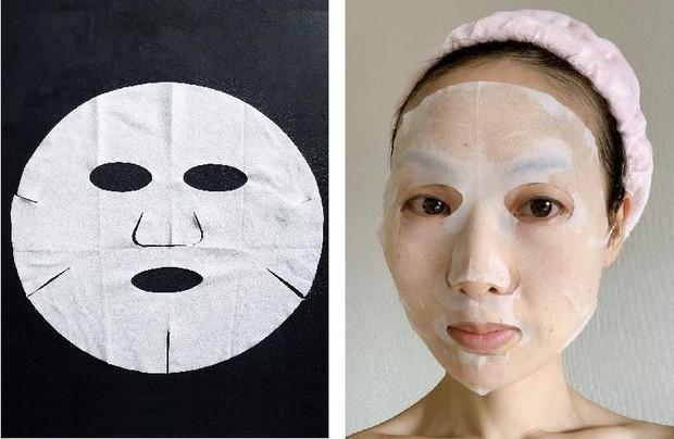タカミスキンピールマスクをした状態