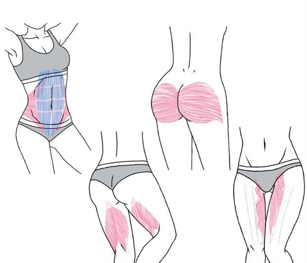 4つの筋肉を鍛えてパーツやせ! とがわ愛さん流ダイエット「やせ筋トレ」がすごい