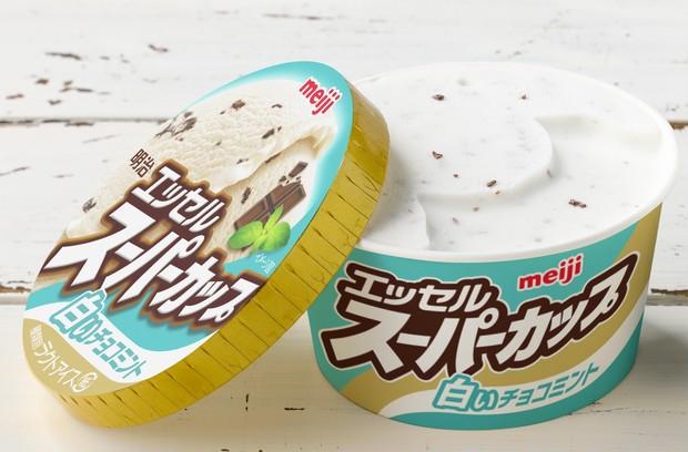 本日発売! スーパーカップから「白い」チョコミント味が新登場_1