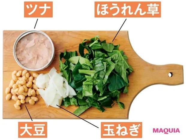【美容スープレシピ】トマトの酸味がきいたさわやかな味わい 「カレートマトビーンズスープ」_材料