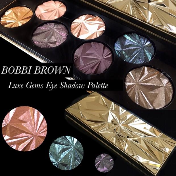 【新作速報】11月1日発売!まるで宝石箱なBOBBI BROWNのリュクスパレット