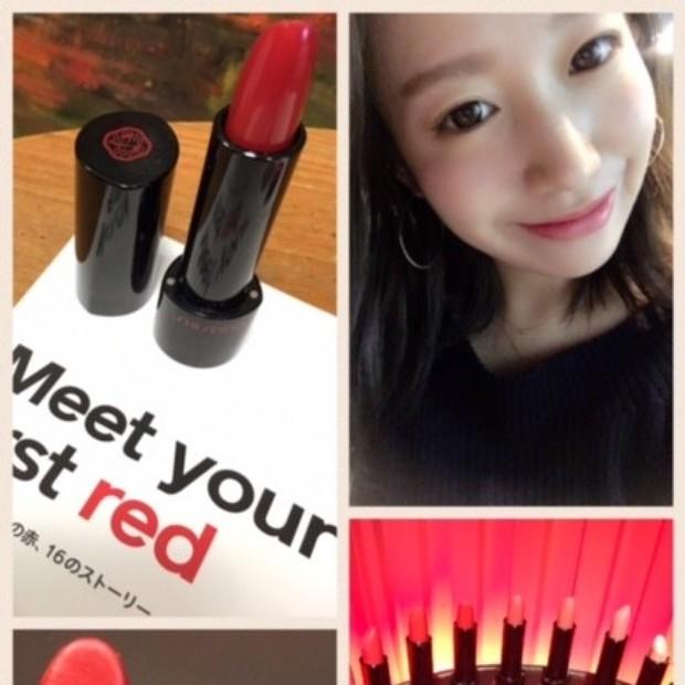 ピッタリの「赤リップ」が必ず見つかる♡SHISEIDO 16の赤