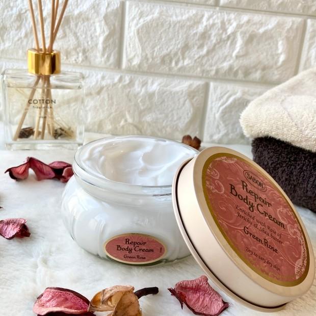 リッチな香りと濃密なクリームで、しっとりもっちり肌へ♡♡SABON史上、最も保湿力の高いボディクリームが新登場!!