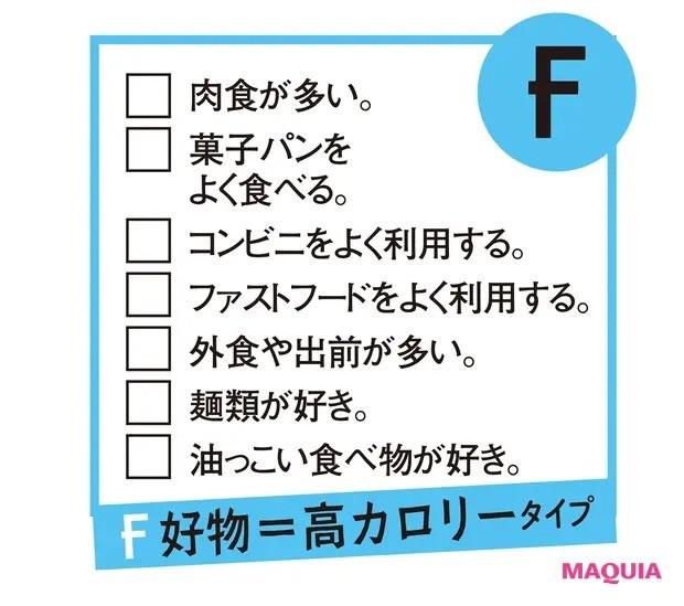 【食べ方を見直すダイエット】<F> 好物=高カロリータイプ