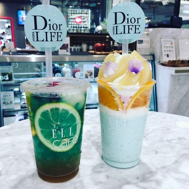 【6/30までの期間限定!】Diorサンプルがもらえちゃう♡ ELLE café for Diorコラボスイーツ!