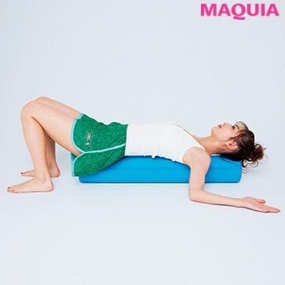 【ウエストのくびれの作り方】2.寝る前に肩甲骨を開く