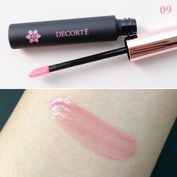 コスメデコルテ ティント リップグロス 09 rosy lilac