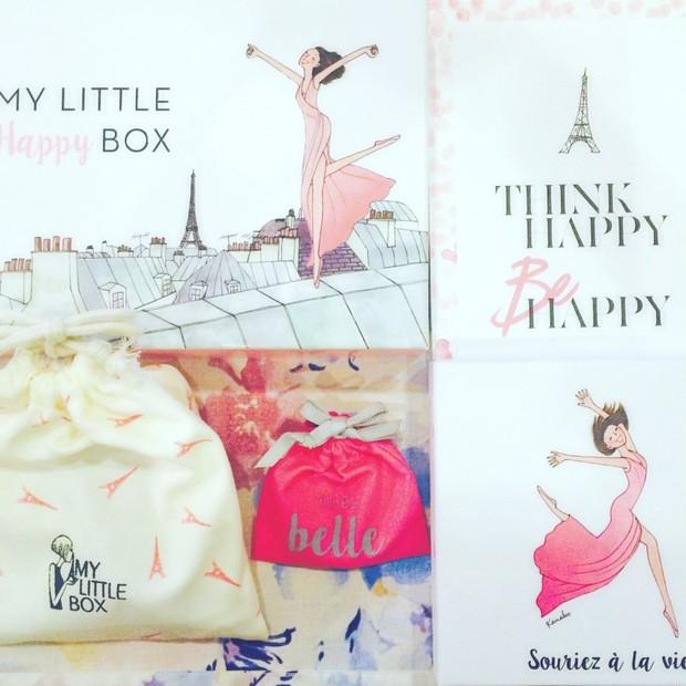 """今月はランコムの最新コスメがIN♡ピンクカラーが可愛いMy Little """"Happy"""" Boxの中身"""